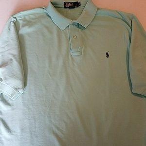 Polo By Ralph Lauren mint green Large shirt